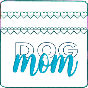 Dog Mom Zipper Pouch 4x4
