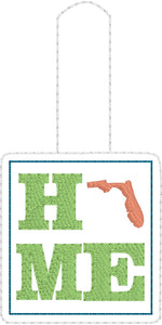 Florida HOME Snap Tab 4x4 and 5x7