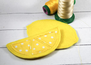 Oversized Lemon Felties for Wreaths or Banners