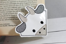 Cow Corner Bookmark Design