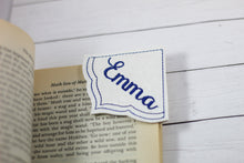 Blank Frame Corner Bookmark Design