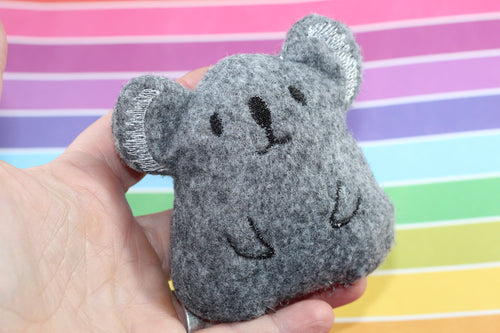 Koala Stuffie Stuffed Animal In the Hoop Embroidery Design