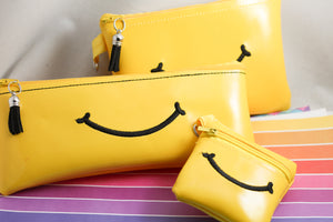 Smile Set of Zipper Bags 4x4, 5x7, 4x9 - Three Sizes for 4x4, 5x7 and 6x10 hoops
