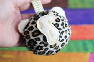 Leopard Fluffy Puff - In the Hoop Embroidery Design