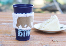 Bear Stippled Coffee Sleeve