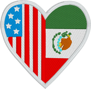 Mexico America Love Design
