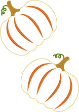 Pumpkin Felties for Wreaths or Banners