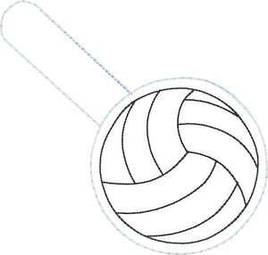 Volleyball Snap Tab