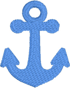 Mini Anchor embroidery design