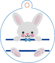 Bunny Boy and Bunny Girl Ornaments for 4x4 hoops