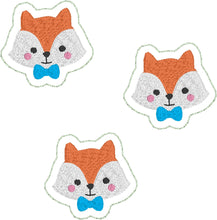 Fox Felties embroidery design