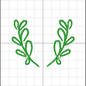 Boxwood Monogram Frame