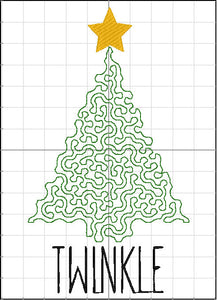 TWINKLE Christmas Tree Design