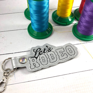 Lets Rodeo snap tab for 4x4 and 5x7 hoops