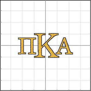Greek lettering for Pi Kappa Alpha