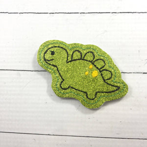 Dinosaur Feltie embroidery design - Stegosaurus Embroidery File - DBB - DIGITAL DOWNLOAD