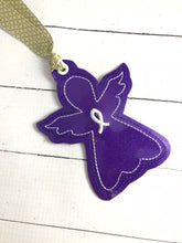 Awareness Angel Christmas Ornament for 4x4 hoops