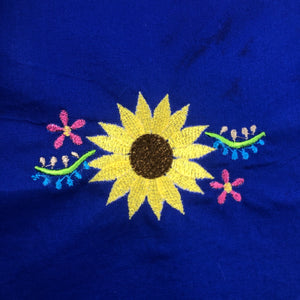 Sunflower Floral 4x4 Embroidery Design