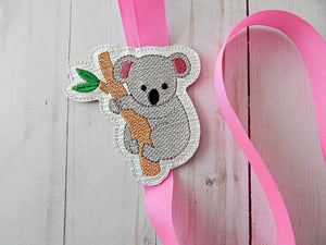 Koala Feltie embroidery design