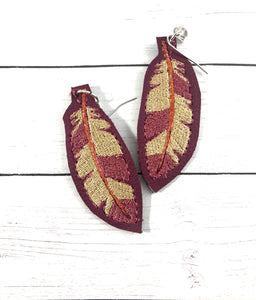 Feather Fill Earrings