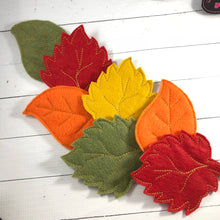 Oversized Leaf Felties for Wreaths or Banners