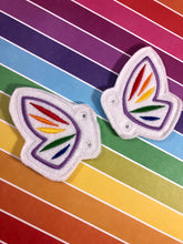 Butterfly Wing Shoe Wings embroidery design