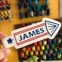 BLANK Firecracker snap tab for NAMES for 5x7 hoops