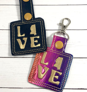 Mississippi Love Snap Tab 4x4 and 5x7