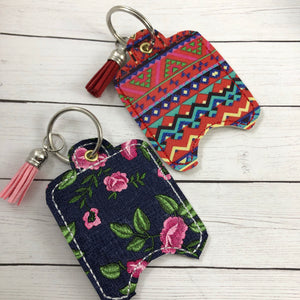4x4 BLANK Hand Sanitizer Holder EYELET VERSION In the Hoop Embroidery Project
