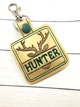 Buck Personalized Bag Tag for 4x4 hoops