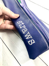 Set of Straw Zipper Bags 4x7, 4x10, 4x12