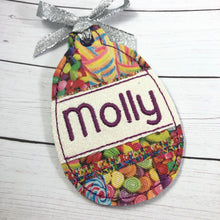 BLANK Egg Applique Ornament for 4x4 hoops