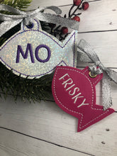 BLANK Fish Eyelet Tag/Ornament for 4x4 hoops