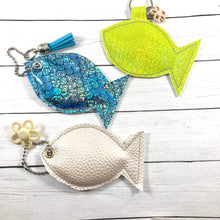 Stuffed Fish SINGLE Dangle Tag