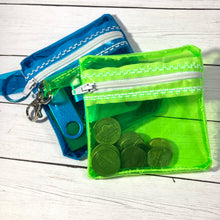 Clear Jelly Bag Zipper Pouch 4x4