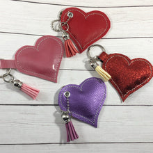 Stuffed Heart SINGLE Dangle Tag