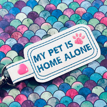 Pet Home Alone Snap Tab