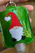 Gnome Hand Sanitizer Holder for 2 oz Bottles Snap Tab In the Hoop Embroidery Project