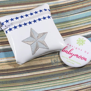 Lone Star Zipper Pouch 4x4