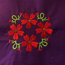 Geraniums Floral 4x4 Embroidery Design
