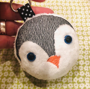 Penguin Fluffy Puff - In the Hoop Embroidery Design