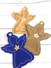 Angel Christmas Ornament for 4x4 hoops