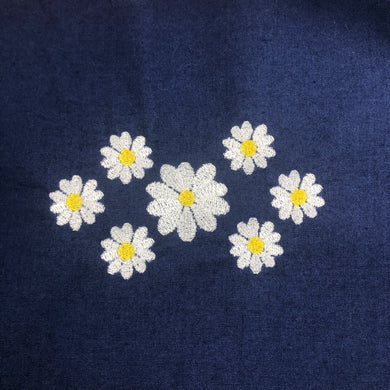 Daisies Floral 4x4 Embroidery Design
