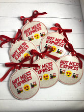 Hot Mess Express Christmas Ornament for 4x4 hoops