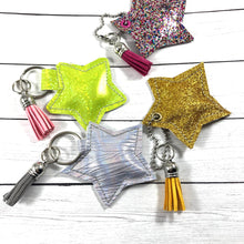 Stuffed Star SINGLE Dangle Tag