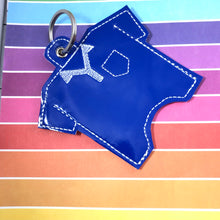 Golf Shirt Hand Sanitizer Holder Eyelet Version In the Hoop Embroidery Project 2 oz for 4x4 hoops