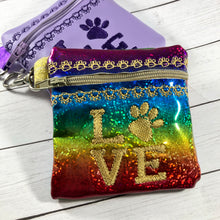 Puppy LOVE Zipper Pouch 4x4