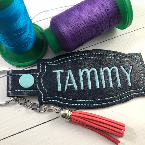 BLANK Deco Frame snap tab and eyelet tabfor NAMES
