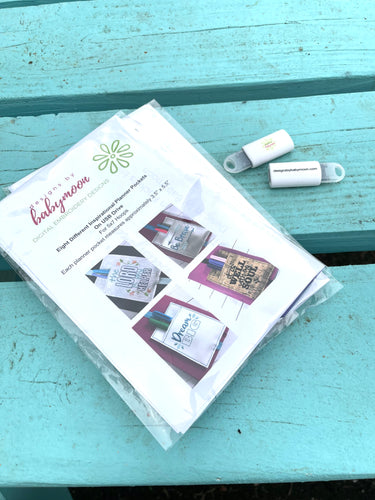 PREORDER - USB Design Set Bundle - Inspirational Planner Pockets