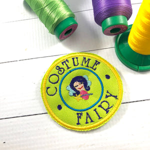 Costume Fairy Patch embroidery design